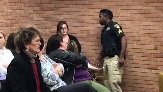 Vermilion Parish teacher gets arrested at Vermilion Parish school  board meeting
