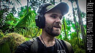 Metal Detecting In The Florida Woods