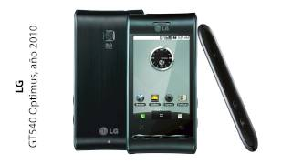 LG Mobile Phones History (2002-2014)