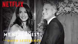 The Moment George Clooney Met Amal | My Next Guest Needs No Introduction | Netflix