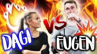 DAGI VS. EUGEN - im Jump House 💥   Dagi Bee