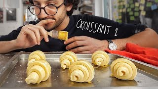 I Try To Make Croissants For The First Time...