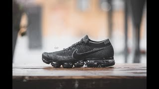 "Review & On-Feet: Nike Air Vapormax Flyknit ""Triple Black"""