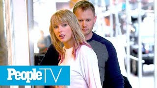 Taylor Swift Steps Out With New Pink Hair — Is It Another Clue Fresh Music Is On The Way? | PeopleTV
