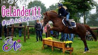 Lia & Alfi - Geländeritt mit Actioncam - Camillas Event Teil 1