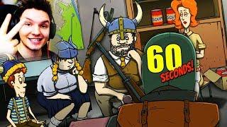 VIER WIKINGER WOLLEN GERETTET WERDEN !!! | 60 Seconds