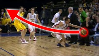 """Craziest """"Unintentional"""" Shots in Basketball History"""