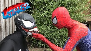 SPIDERMAN, IRONMAN & DEADPOOL VS VENOM  Part 8