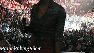 Deontay wilder vs dominic breazeale entrance. Best boxing entrance ever. Barclays center