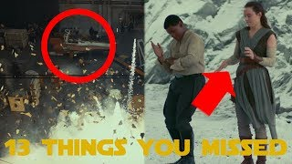 Star Wars: The Last Jedi | Behind The Scenes - 13 Things You Missed (SPOILERS)