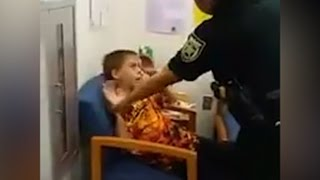 Mom Records Autistic Son Getting Arrested (VIDEO)