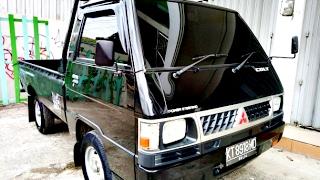 Dijual Mobil Mitsubishi L300 Tahun 2009 Hitam Samarinda HP085246902754