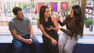 """Nikki Bella is asked to be on """"Dancing with the Stars"""": Total Divas Preview Clip, Jan. 17, 2018"""
