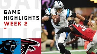 Panthers vs. Falcons Week 2 Highlights | NFL 2018