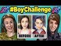 Adults React to #BoyChallenge - Girls Tu...