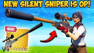 *NEW* SILENCED SNIPER IS INSANE! - Fortnite Funny Fails and WTF Moments! #436