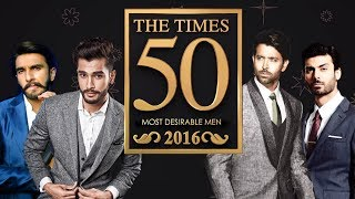 The Times 50 Most Desirable Men 2017 (Number 41-50)