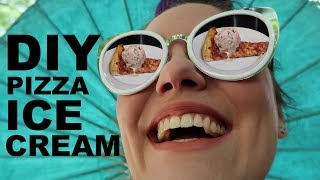 Timely Pizza Ice Cream ON TOP OF PIZZA, DREAMS ANSWERED?!