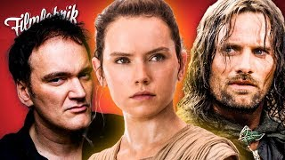 HERR DER RINGE-Serie | STAR WARS 8: Laufzeit veröffentlicht | TARANTINOS neuer Film