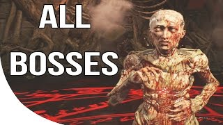 DOOM 4 - All Boss Fights