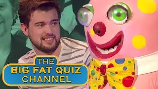 Jack Whitehall is Terrified of Mr Blobby - The Big Fat Quiz Of The