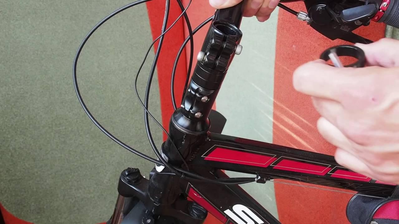 Как сделать руль на скоростном велосипеде