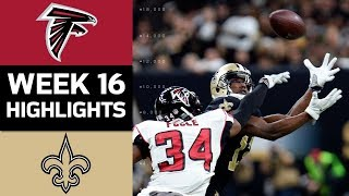 Falcons vs. Saints | NFL Week 16 Game Highlights