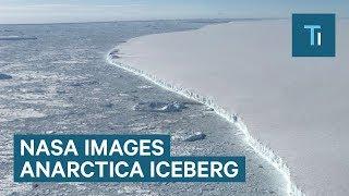 New NASA Images Of Larsen C Iceberg A-68 In Antarctica