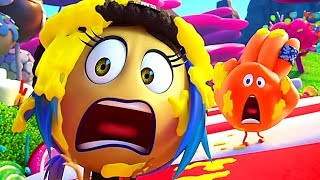 "THE EMOJI MOVIE - ""Candy Crush Game !"" Movie Clip (Animation, 2017)"