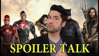Justice League - SPOILER Talk