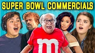 TEENS REACT TO SUPER BOWL COMMERCIALS 2018