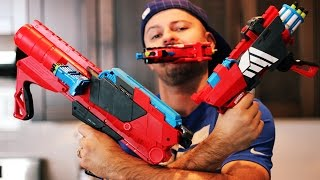 Boxing Day BOOMCO Blasters Unboxing & Review WAR (Farshot, Twisted Spinner, Ambush Attack)
