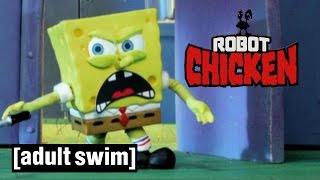 SpongeBob SquarePants learns the truth | Robot Chicken | Adult Swim