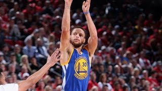 Stephen Curry Puts Up 37/7/8 in Game 4 Win vs. Blazers | April 24, 2017