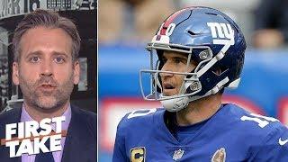 Giants' win vs. 49ers 'meaningless' - Max Kellerman   First Take