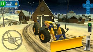 Ski Resort Driving Simulator #2 Plow Tractor - Android Gameplay FHD