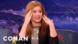 Isla Fisher: Everyone Thinks I Do Coke - CONAN on TBS
