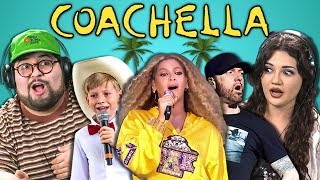 COLLEGE KIDS REACT TO COACHELLA 2018 (Beychella, Eminem, Walmart Yodel Boy)