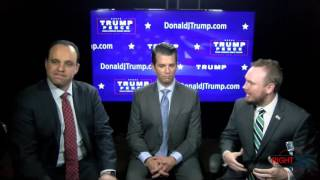 An Interview with Donald Trump Jr. On Election Day from Trump Tower!