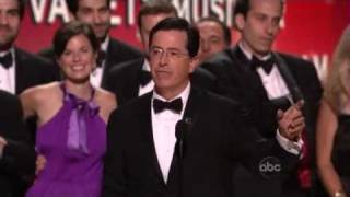 The Colbert Report Wins An Emmy - 2008