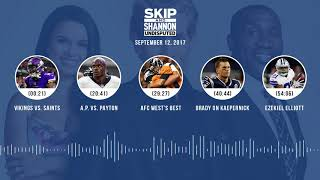 UNDISPUTED Audio Podcast (9.12.17) with Skip Bayless, Shannon Sharpe, Joy Taylor | UNDISPUTED
