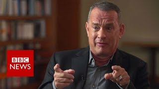 Tom Hanks on Harvey Weinstein - BBC News