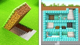 BUILDING THE ULTIMATE SECRET BASE IN MINECRAFT!