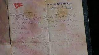 """Der """"Titanic""""-Brief wird für eine Rekordsumme versteigert!"""