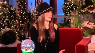 The Ellen Show  Ellen Talks to Paris Jackson About Growing Up