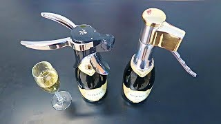 8 Champagne Bottle Opener You Never Knew Existed!