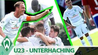 Werder U23 - Spvgg Unterhaching 3:0 | Levent Aycicek mit Traumtor-Doppelpack | SV Werder Bremen