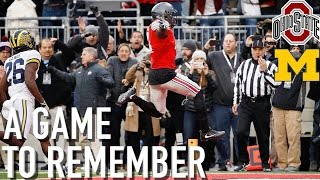 A Game to Remember: Ohio State vs. Michigan