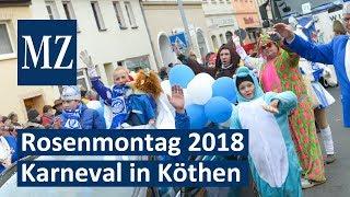 Rosenmontagsumzug 2018 in Köthen