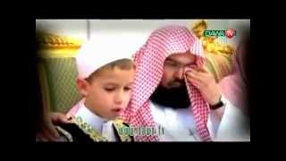 Sheikh Sudais Crying of a Child Beautiful Reciting Quran